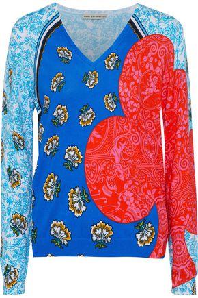 MARY KATRANTZOU Whist printed cotton sweater