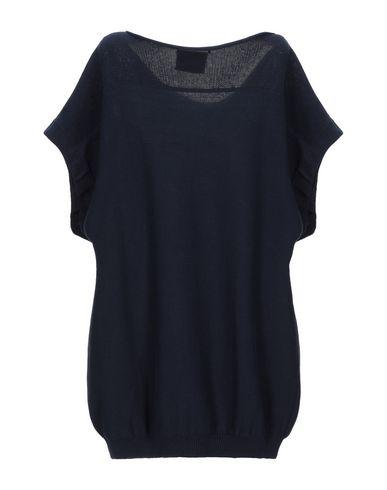 Фото 2 - Женский свитер GOTHA темно-синего цвета