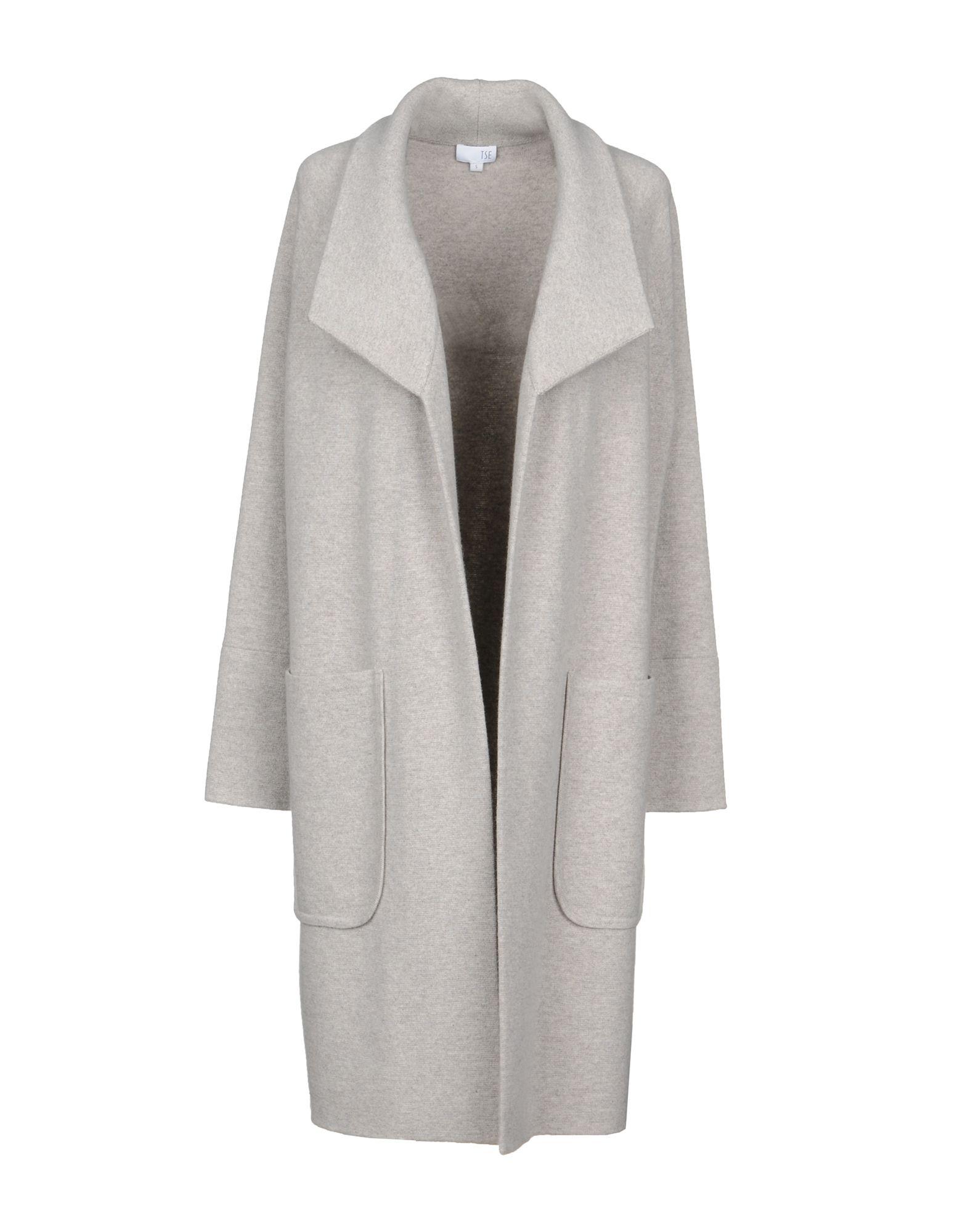 TSE Cardigan in Light Grey