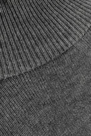 BAILEY 44 Aristocratic cutout stretch-knit turtleneck sweater