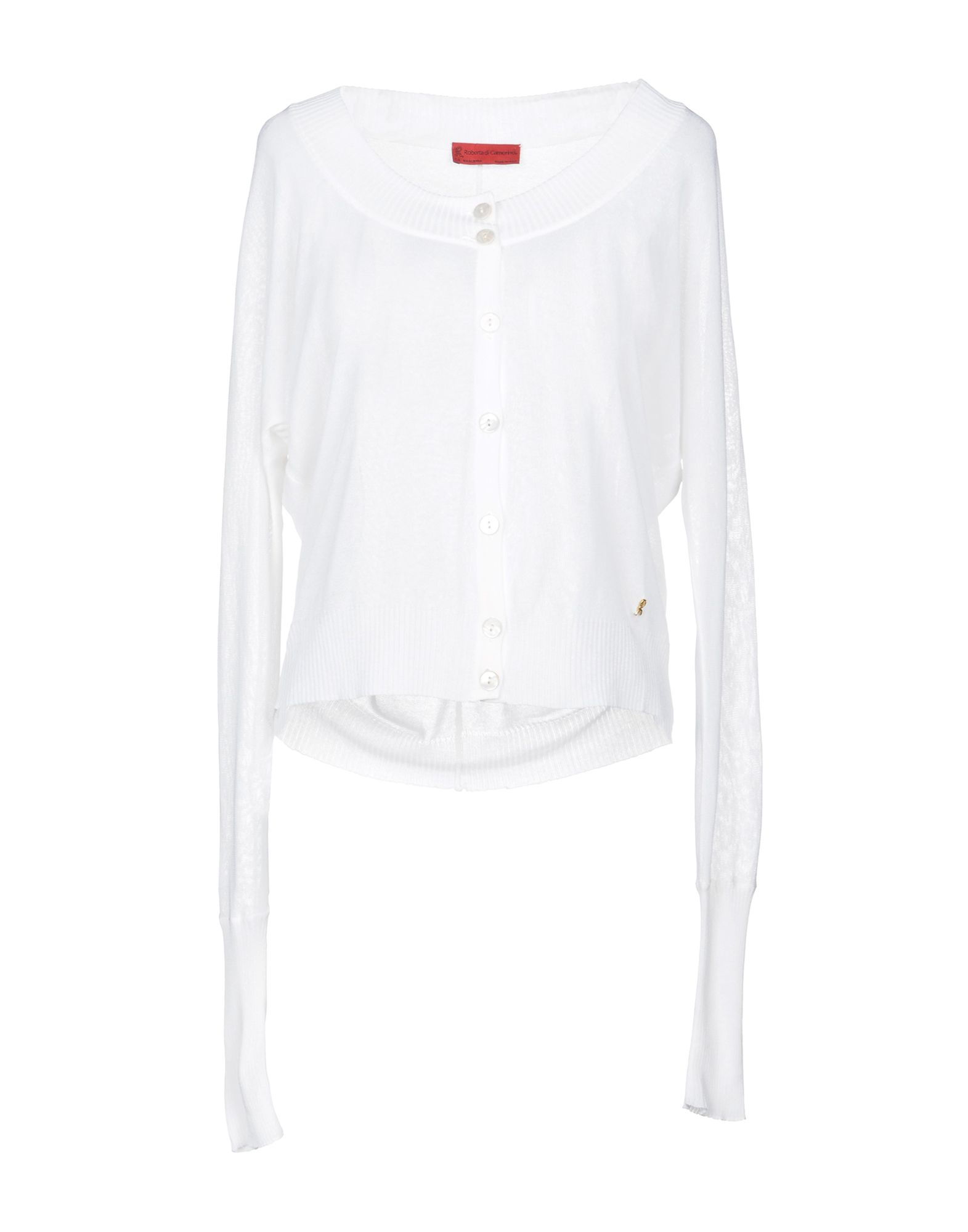 ROBERTA DI CAMERINO Cardigan in White