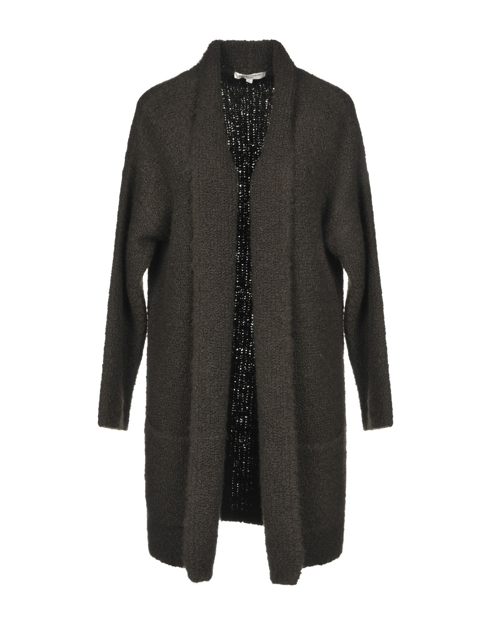 BARBARA LOHMANN Cardigan in Dark Green