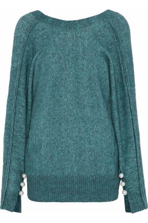 WOMAN KNITTED SWEATER TEAL