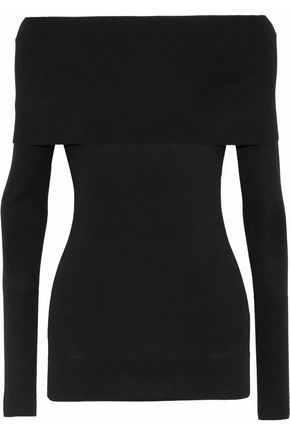 AUTUMN CASHMERE Off-the-shoulder cashmere sweater