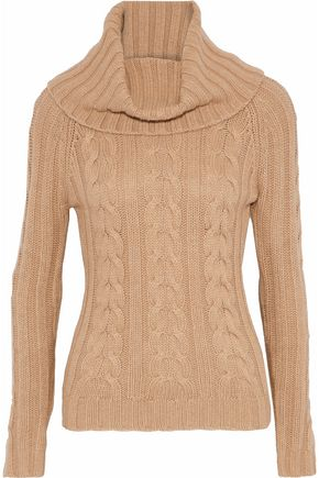 AUTUMN CASHMERE Cable-knit sweater