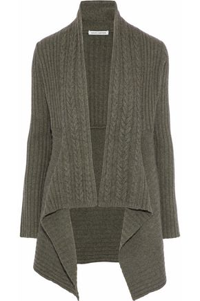 AUTUMN CASHMERE Cable-knit cardigan