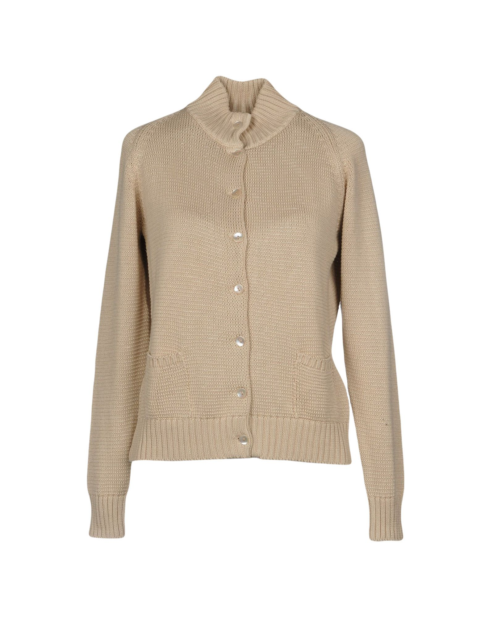 BASE Cardigan in Beige