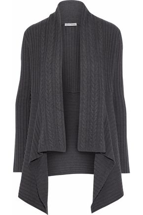 AUTUMN CASHMERE Ribbed-knit cardigan