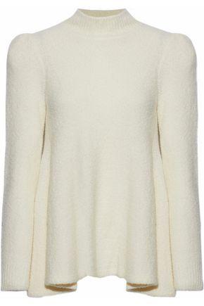 CO Fluted cashmere-blend turtleneck sweater