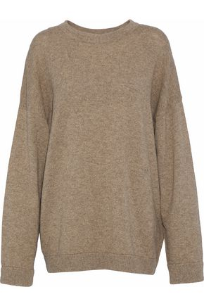 TOTÊME Lhasa oversized mélange wool-blend sweater