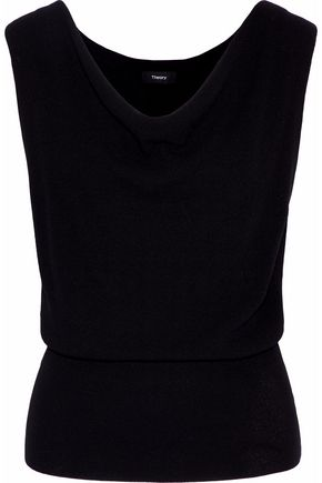 THEORY Prosecco stretch-knit top