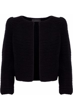 CO Bouclé-knit wool jacket