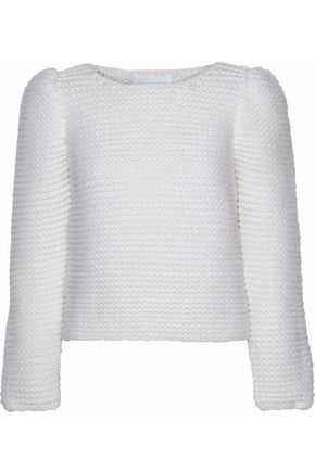 CO Bouclé-knit merino wool sweater