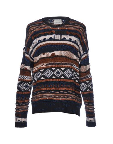 Фото - Мужской свитер LANEUS темно-коричневого цвета