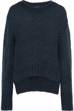 MARKUS LUPFER Megan neon open-knit sweater