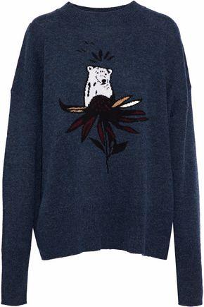 MARKUS LUPFER Intarsia wool sweater