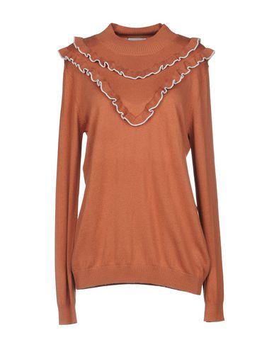 Фото - Женский свитер NÜMPH коричневого цвета