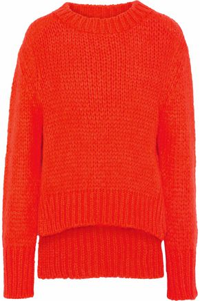 MARKUS LUPFER Open-knit sweater