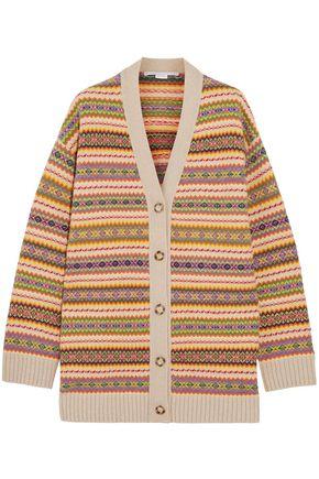 STELLA McCARTNEY Wool-jacquard cardigan