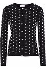 REDValentino Embroidered knitted cardigan