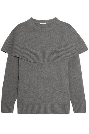 CHLOÉ Layered cashmere sweater