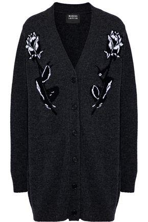 MARKUS LUPFER Roisin intarsia wool cardigan