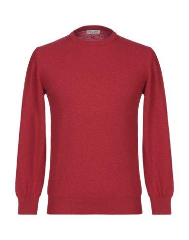 Фото - Мужской свитер DANIELE ALESSANDRINI HOMME красного цвета