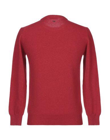 Фото 2 - Мужской свитер DANIELE ALESSANDRINI HOMME красного цвета