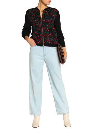 CHLOÉ Wool-blend jacquard cardigan