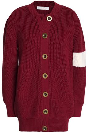 CHLOÉ Ribbed wool cardigan