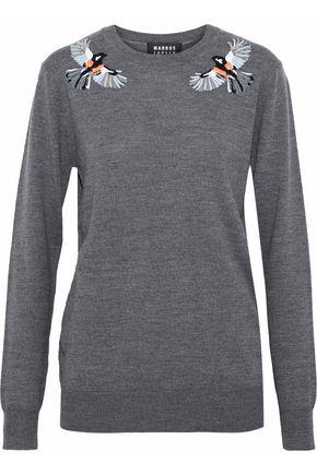 MARKUS LUPFER Natalie embellished merino wool sweater