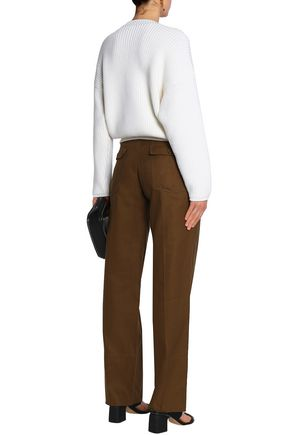 CHLOÉ Button-embellished wool sweater