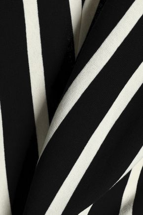 CHLOÉ Striped cotton cardigan