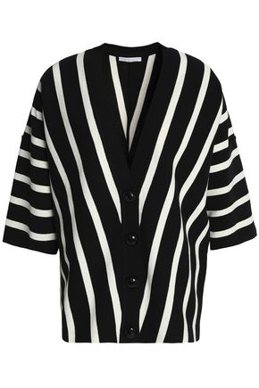 CHLOÉ Striped cotton cardigan