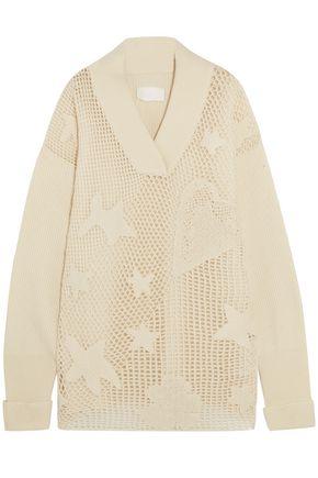 MAISON MARGIELA Open-knit wool-blend sweater
