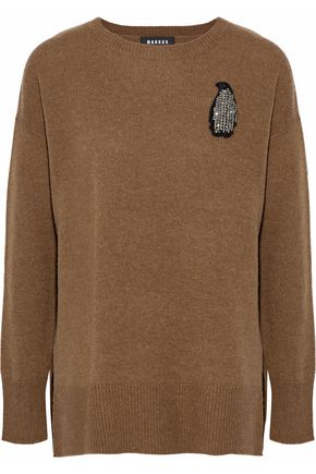 MARKUS LUPFER Embellished wool sweater