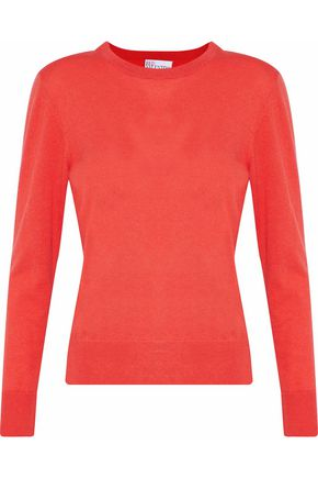 REDValentino Embroidered cashmere and silk-blend sweater