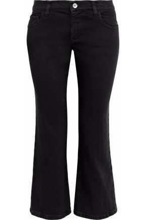 REDValentino Mid-rise kick-flare jeans