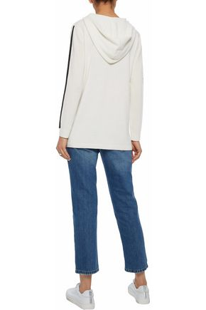 IRIS & INK Cashmere hooded sweater