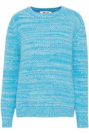 DIANE VON FURSTENBERG Marled angora-blend sweater