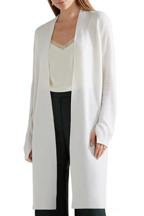 NARCISO RODRIGUEZ Split-back wool and cashmere-blend cardigan