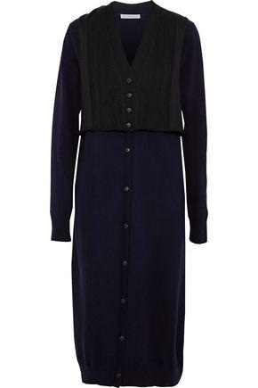 J.W.ANDERSON Knitted wool-blend midi dress