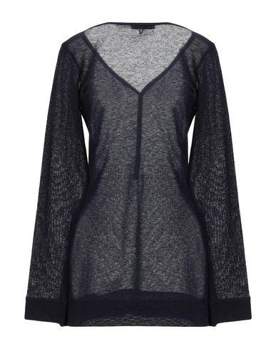 Фото 2 - Женский свитер  темно-синего цвета