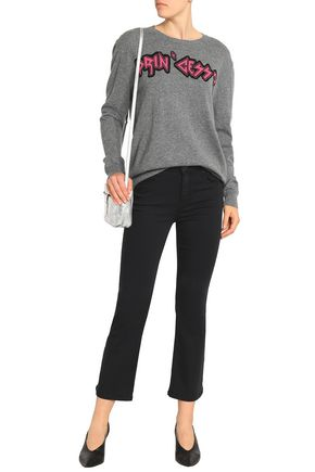 REDValentino Intarsia cashmere sweater