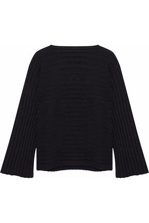 IRIS & INK Ribbed-knit sweater