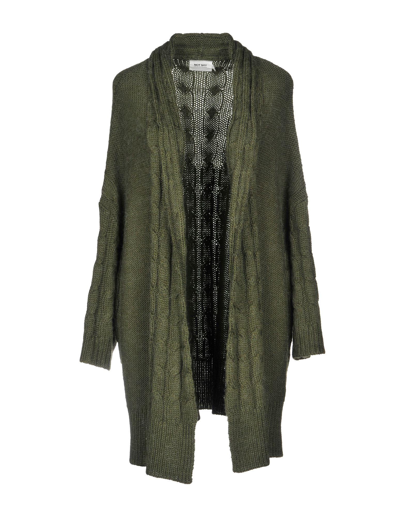 NOT SHY Cardigan in Military Green