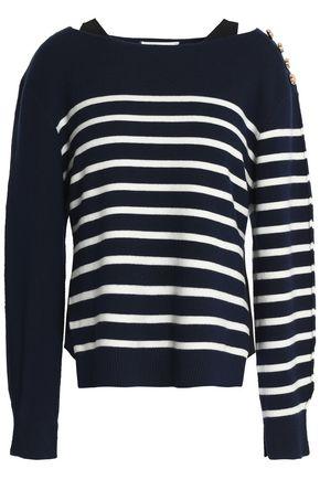 3.1 PHILLIP LIM Striped merino wool-blend sweater