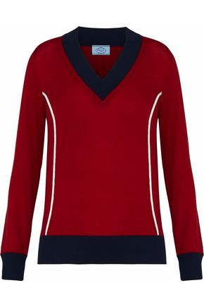 PRADA Wool-blend sweater
