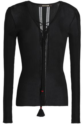 ROBERTO CAVALLI Stretch-knit top