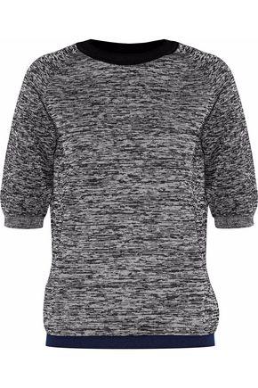 MARNI Marled wool-blend sweater